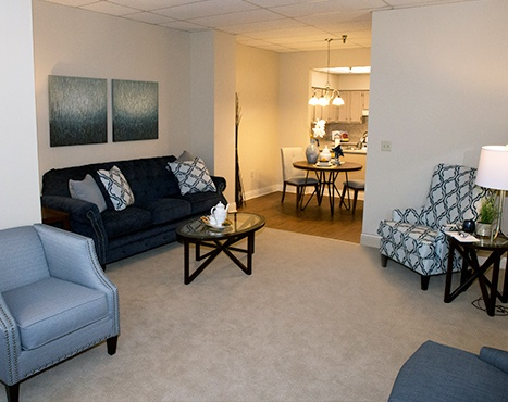 10 Wilmington Place Independent Living - Living Room Image