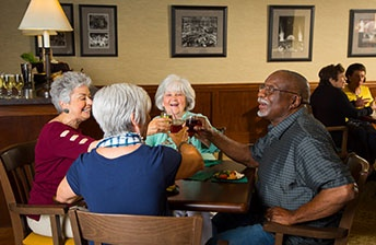 Residents make friends and bond over the simplest to conversation at 10 Wilmington Place