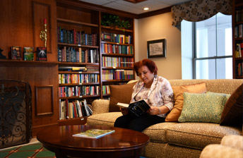 Enjoy reading a book in one of our relaxing reading rooms at 10 Wilmington Place