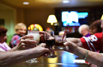 enjoy a round of drinks and fun with friends at 10 Wilmington Place