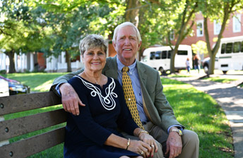 Meet our owners Barry and Marilyn Humphries at 10 Wilmington Place